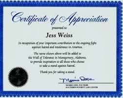 Certificates Of Appreciation Appreciation Certificate Template For Employee