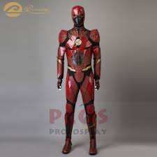 Procosplay Size Chart Us 263 0 Procosplay Justice League Barry Allen Cosplay Costume The Flash Cosplay Mask Shoes Movie Tv Costume Mp003656 In Movie Tv Costumes