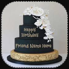 Happy Birthday Cake Name Editor Birthdaycakeforboycf