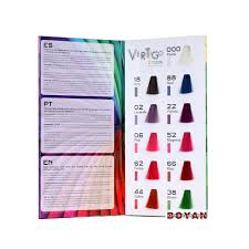 Por 15 Colors Chart Asian Hair Color Design Hair Color Chart With Good Quality Buy Hair Color Chart Product On Alibaba Com