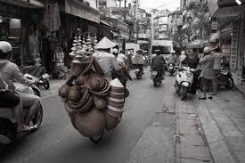 photography nostalgia memoir hanoi street in b w 5
