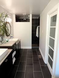 Narrow Bathroom Plans Master Bathroom Shower Tile Imencyclopediacom