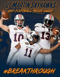 Issuu By Football Athletics 2017 - Martin Skyhawk Ut Media Guide