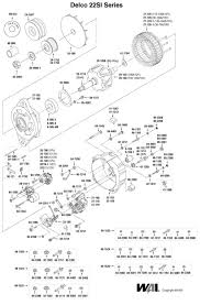 si alternator wiring diagram si image wiring diagram delco remy 22si alternator wiring diagram delco auto wiring on si alternator wiring diagram