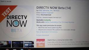 directv now beta on firestick