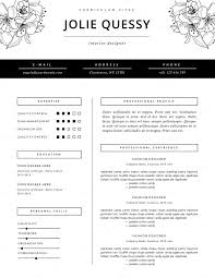 94 Creative Word Resume Template Word Resume Templates Creative