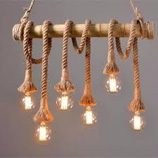 diy rope pendant light hanging lighting with nautical rope diy folded rope dome pendant light