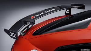 2018 audi parts. Brilliant Parts 2018 Audi TT RS Performance Parts Color Catalunya Red  Spoiler Wallpaper For Audi Parts