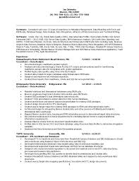 resume of jay zabinsky .
