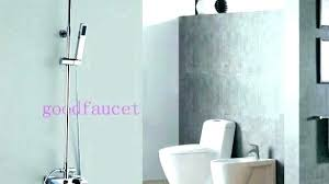 fascinating tub faucet shower head adapter heads attachment bathroom elegant modern rain from connect with beadboard