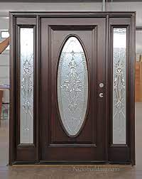 oval glass door window covering page 1