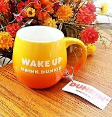 Be the first to write a review! Dunkin Donuts Be Awesome Wake Up Drink Dunkin Sunrise Coffee Mug New 20 Oz Ebay