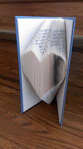 Book Folding Patterns Magnificent Book Folding Pattern HEART Craftsy