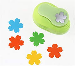 Paper Punches Flower Amazon Com Cady Crafts Punch 1 5 Inch Paper Punches Craft Punches