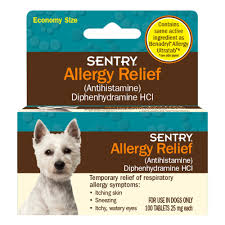 Sentry Allergy Relief Dog Tablets | Petco