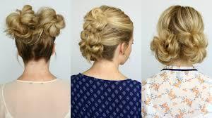 Different Bun Hairstyles 5 Summer Mini Bun Hairstyles Missy Sue Youtube