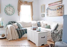 No furniture living room Cushions No Sew Drop Cloth Slipcovers Look Like Linen At Fraction Of The Cost No Sew Drop Cloth Slipcover Town Country Living