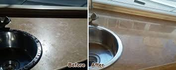travertine countertop corona del mar restoration