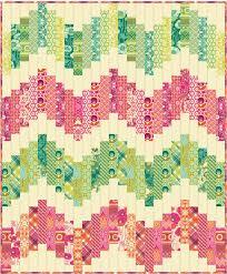 357 best STRIP QUILTS images on Pinterest   Crafts, Patterns and ... & Freespirit fabric free pattern. Chevron Quilt PatternStrip ... Adamdwight.com