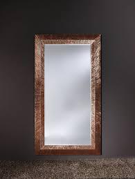 groove copper ridged framed bevelled