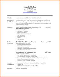 8 9 Medical Assistant Resume Objective Titleletter