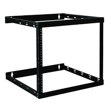 wall mount 2 post open frame rack cabinet 8u 14u 22u wallmount