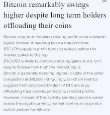 You can earn satoshi with many methods. Bitcoin Remarkably Swings Higher Despite Long Term Holders Offloading Their Coins Bitcoin Term Bitcoin Price