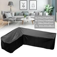 waterproof rattan corner furniture