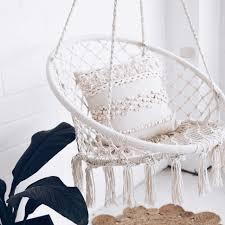 bedroom bedroom hammock chair outdoor nz crochet diy rope cat under indoor macrame swing