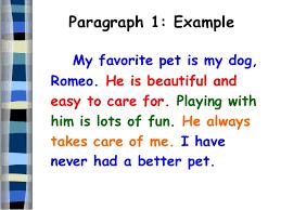 five paragraph essay paragraph 1 example