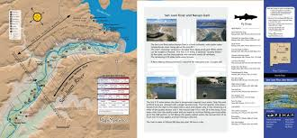San Juan River Hatch Chart San Juan River Fishing Map New Mexico Map The Xperience