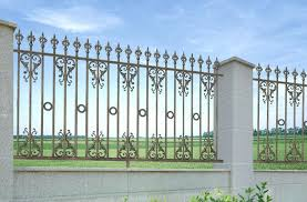 Wrought Iron Fence Designs Cheap Decorative Wrought Iron Fence