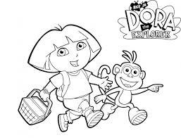 dora the explorer coloring book 5