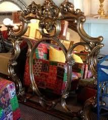 Beautiful Della Robbia sofa found at Design With Consignment in