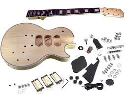 solo lp style diy guitar kit