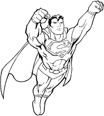 Small Picture Superman Coloring Pages GetColoringPagescom