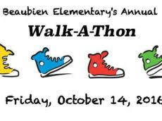 Walkathon Beaubien Elementary