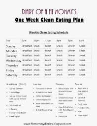 Easy Diet Chart This Two Week Family Meal Plan Will Change Your Life