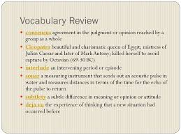 agenda vocabulary review in journal informative essay task get 2 vocabulary