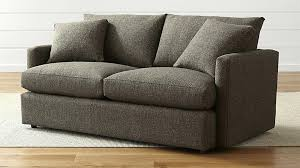 lounge ii comfortable apartment sofa reviews crate and barrel with remodel 2 axis review intended for
