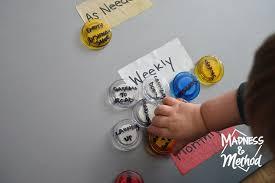 Magnet Board Makeover Madness Method