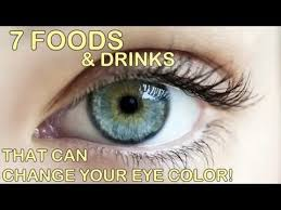 drinks that can change your eye color