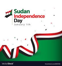 Sudan Design Sudan Independence Day Template Design