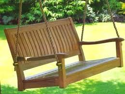teak outdoor bench garden furniture melbourne swing