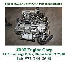 TOYOTA 2RZ 3RZ Tacoma 4runner T100 Engine 2.4L 2.7L BRAND NEW 3-5 ...