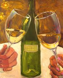 oil paintings of wine bottles lorrie drennan oil painting wine wine glass