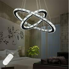 Dimmbar Deckenlampe Hängeleuchte Kristall Led Pendelleuchte