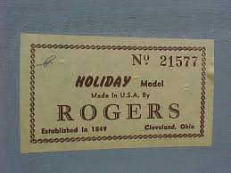 Rogers Serial Number Chart Bobbys Personal Collection