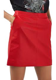 top faux leather pencil skirt regular petite