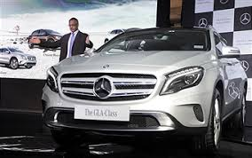 new car launches september 2014 indiaPhotos et images de MercedesBenz Launches GLA Class In India